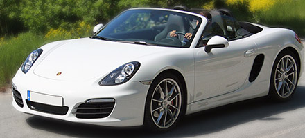 Dream Car Rental Bil Porsche Boxster